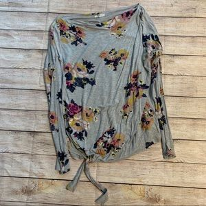 Maurice's • Small Tied Long Sleeve Top